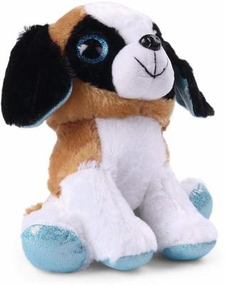 Starwalk Puppy Plush With Sparkle Eyes   22 cm Multicolor Starwalk Soft Toys