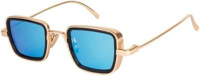 Elegante Rectangular Sunglasses(Blue)
