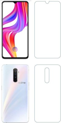 PR SMART Front and Back Tempered Glass for Realme X2 Pro(Pack of 2)