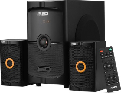 Altec Lansing AL-3004A 50 W Bluetooth Home Theatre  (Black, Orange, 2.1 Channel)