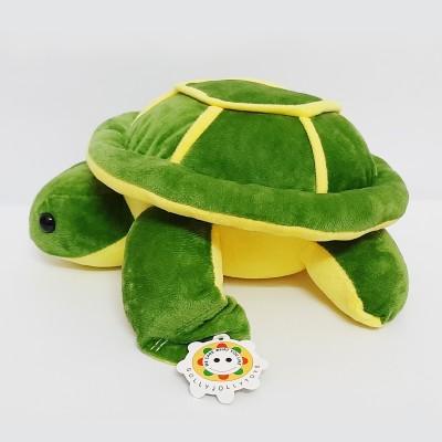 GIFT Duckyhub Brand Tortoise Stuffed Soft Toy Green 30CM   30 cm Green