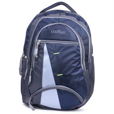LUIS PAUL ZA38 20 L Backpack Blue LUIS PAUL Backpacks