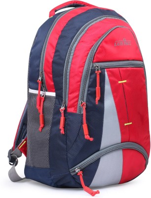 LUIS PAUL ZA75 LUCKY 2020 Waterproof School Bag(Red, Blue, 20 L)