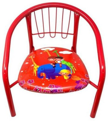 DMTE Metal Chair(Finish Color - Orange)