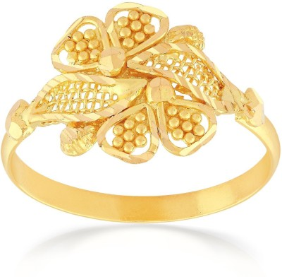 Malabar Gold and Diamonds RGCOVM0029 22kt Yellow Gold ring