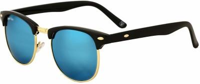 Royal Son Clubmaster Sunglasses(Blue)