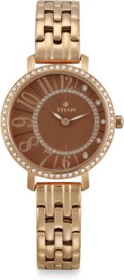 Titan NM95041WM02 Analog Watch   For Women Titan Wrist Watches