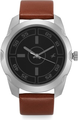 Fastrack NF3123SL03C Bare Basic Analog Watch   For Men Fastrack Wrist Watches