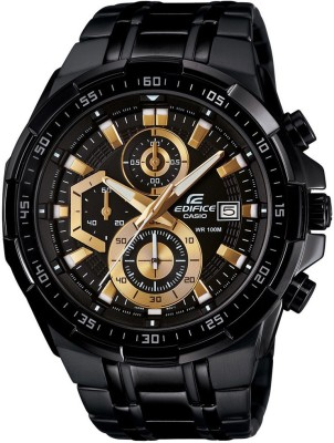 CASIO EX187 Edifice   EFR 539BK 1AVUDF   Analog Watch   For Men CASIO Wrist Watches