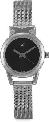 Fastrack NG6088SM01 Analog Watch   For Women Fastrack Wrist Watches