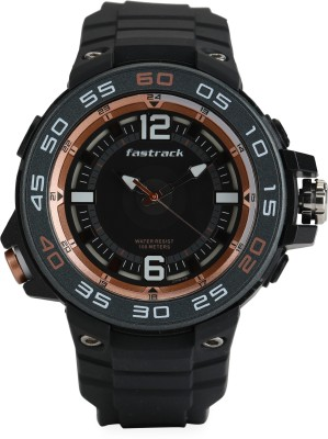 Fastrack 38044PP03 Trendies Analog Watch   For Men Fastrack Wrist Watches
