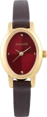 SONATA 8100YL03C Analog Watch   For Women SONATA Wrist Watches