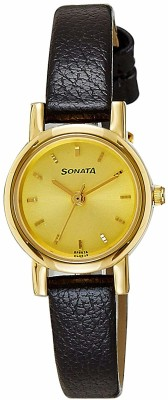 SONATA NH8976YL01CJ Analog Watch   For Women SONATA Wrist Watches