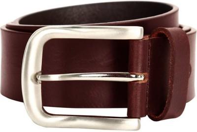 WalletLee Men Formal, Casual, Party Brown Genuine Leather Reversible Belt
