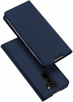 Vodex Flip Cover for Mi Note 8 Pro II Redmi Note 8 Pro (6.53-inch) II Redmi Note8 Pro(Blue, Dual Protection)