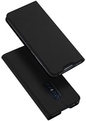 Vodex Flip Cover for Vivo V17 Pro(Black, Dual Protection)