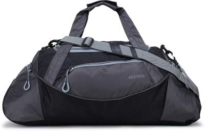 Novex Lite Travel Duffel Bag Black, Grey  Novex Duffel Bags