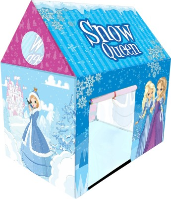 Miss & Chief Snow Queen Play House Tent for Kids(Multicolor)