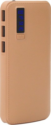 MIOFIMY 10000 mAh Power Bank Brown, Lithium ion MIOFIMY Power Banks