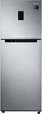 Samsung 324 L Frost Free Double Door 3 Star  2020  Convertible Refrigerator Elegant Inox, RT34T4513S8/HL Samsung Refrigerators