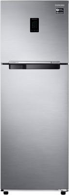 Samsung 345 L Frost Free Double Door 3 Star (2020) Convertible Refrigerator(Elegant Inox, RT37T4513S8/HL)