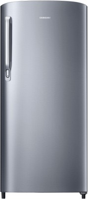 Samsung 192 L Direct Cool Single Door 2 Star (2020) Refrigerator(Elective Silver, RR19T241BSE/NL)