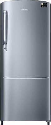 Samsung 212 L Direct Cool Single Door 3 Star (2020) Refrigerator(Elegant Inox, RR22T272YS8/NL)