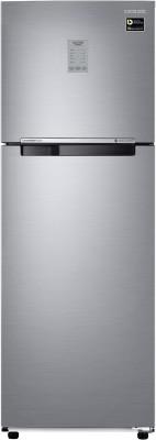 Samsung 275 L Frost Free Double Door 3 Star (2020) Convertible Refrigerator(Refined Inox, RT30T3743S9/HL)