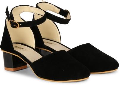 Dymo Women Black Heels
