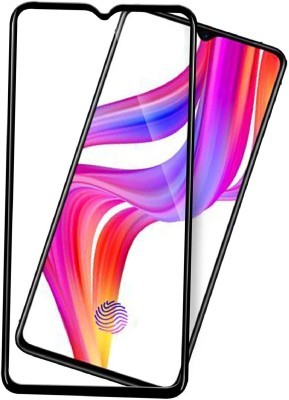 GeekMart Edge To Edge Tempered Glass for Oppo F15(Pack of 1)