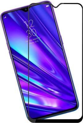 GeekMart Edge To Edge Tempered Glass for Realme C3(Pack of 1)
