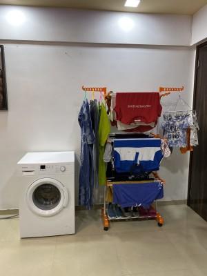 TNC Steel Floor Cloth Dryer Stand O1MS-012(3 Tier)