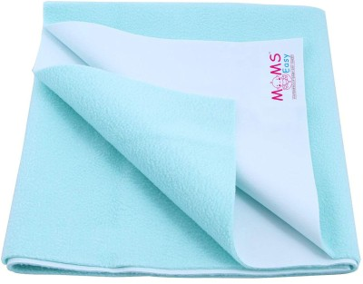 moms easy PVC (Polyvinyl Chloride) Baby Bed Protecting Mat(Sky Blue, Small)