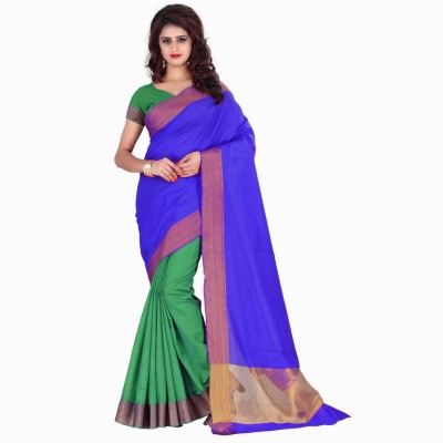 Trendz Style Solid Bollywood Tussar Silk Saree