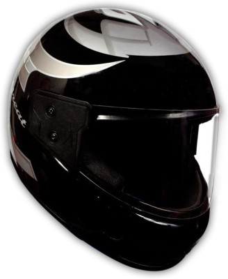 TRYFLY GALAXY BLUE KIMI (ISI APPROVED) X Motorbike Helmet(Black)