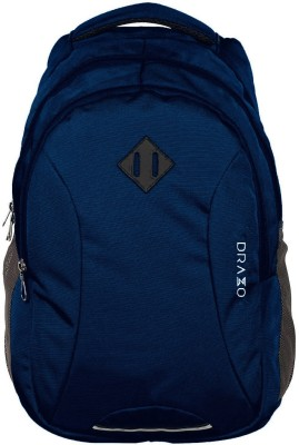DRAZO 18 inch Expandable Laptop Backpack(Blue)