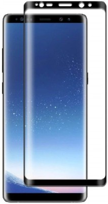 nzon Screen Guard for Nzon Compatible for Galaxy Note 9 Screen Protector Matte Finish Edge to Edge[Full Coverage] [Anti Glare][Anti Fingerprint] Tempered Glass Screen Protectors for Samsung Note 9 - Black(Pack of 1)