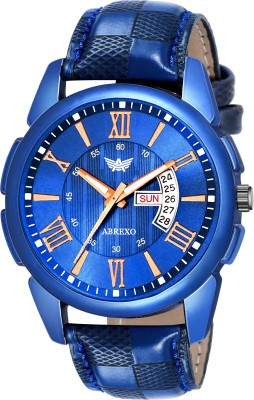 Abrexo Abx8114-BL Blue Unique New Day & Date Functioning Analog Watch  - For Men