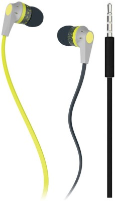 ATARC Best Earphone For PUBG game Wired Headset(Yellow, Wired in the ear)