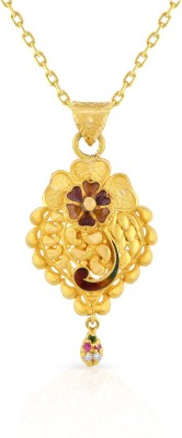 Malabar Gold and Diamonds CNIAAAAELKTM_Y 22kt Yellow Gold Pendant