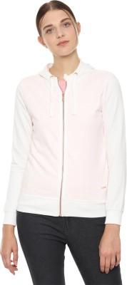 Van Heusen Full Sleeve Solid Women Sweatshirt