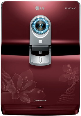 LG WW170EP 8 L RO + UV Water Purifier, Red