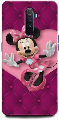 INDICRAFT Back Cover for Realme X2 Pro Minnie Mouse, Fine pink Art, Cartoon, Disney(Multicolor, Hard Case)