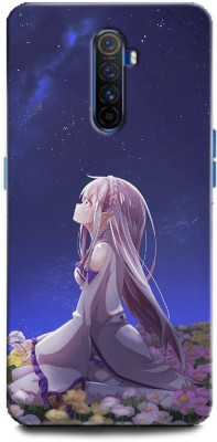 INDICRAFT Back Cover for Realme X2 Pro Anime, girl, Animation fine art girl, Anime(Multicolor, Hard Case)