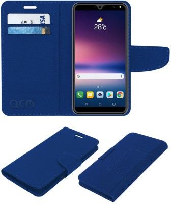 ACM Flip Cover for I Kall K110(Blue, Cases with Holder)