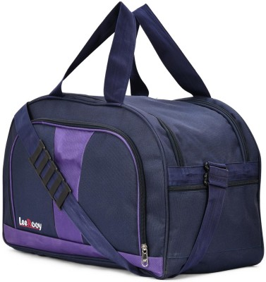 LeeRooy  Expandable  TBAG1PRPL Travel Duffel Bag Purple