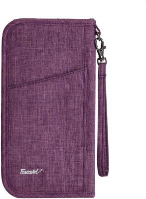 Lycus Passport Pouch with Detachable Strap(Purple)