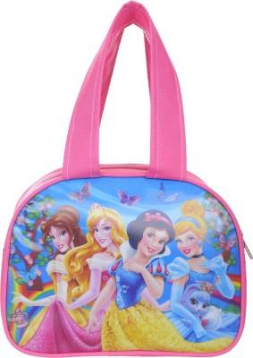 wynex Expandable Waterproof Printed School Lunch/Tiffin Bag (Pink) Waterproof Lunch Bag (Pink) Waterproof Lunch Bag(Pink, 8 L)
