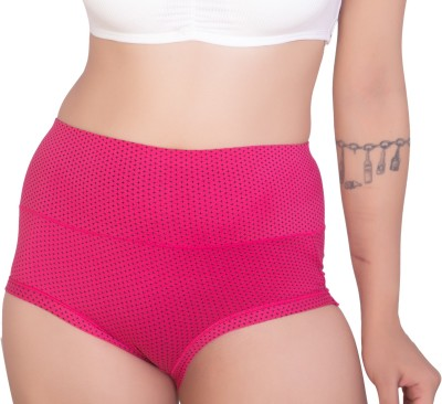 PLUMBURY Women Hipster Pink Panty(Pack of 1)