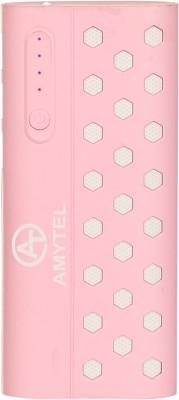 AMYTEL 15000 mAh Power Bank Pink, Lithium ion